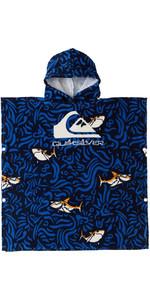 2021 Quiksilver Junior Handdoek Met Capuchon Aqkaa03005 - Echt Blauw