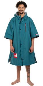 2021 Red Paddle Co Manica Corta Da Uomo Pro Change Jacket 002-009-006-0072 - Verde Acqua