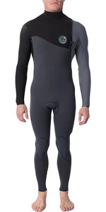 2021 Rip Curl E-Bomb 3/2mm Zip Free Wetsuit WSM8RE - Grey