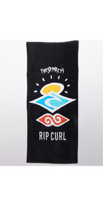 2021 Rip Curl Icons Towel CTWAG9 - Black