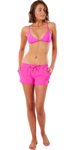 """2021 Rip Curl Curl Classic Surf 3 """"boardshort Voor Dames Gboat9 - Roze"""