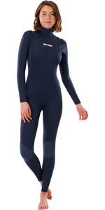 2021 Rip Curl Womens Dawn Patrol 3/2mm Chest Zip Wetsuit WSMYDW - Slate