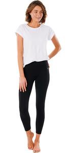 2021 Rip Curl Leggings Flex Donna Anti Series Gpabv9 - Nero