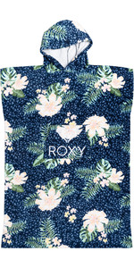 2021 Roxy Girls Stay Magical Printed Change Robe / Poncho ERGAA03121 - Mood Indigo / Animalia