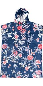 2021 Roxy Stay Magic Bedruckte Change Robe / Poncho Erjaa03911 - Mood Indigo / Sunset Boogie