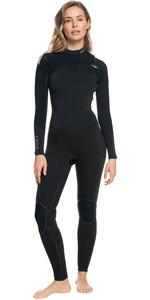 2021 Roxy Womens Performance 3/2mm Chest Zip GBS Wetsuit ERJW103078 - Jet / Black