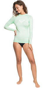 2021 Roxy Frauen Roxy Rash Vest Erjwr03408 - Bachgrün