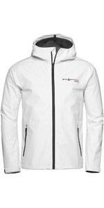 2021 Sail Racing Herren Link Gore-Tex Kapuzenshelljacke 1911106 - Weiß