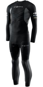 2021 Sail Racing Herren Orca 5mm Back Zip Neoprenanzug 50-116 - Carbon