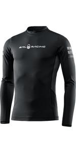 2021 Sail Racing Herren Referenz Langarm Rash Vest 40601 - Carbon