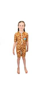 Tuta Da Sole Junior In Saltskin 2021 Stskngrff03 - Giraffa