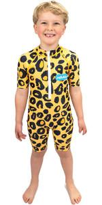 2021 Saltskin Junior Sonnenanzug Stsknleopd03 - Leopard