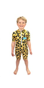 Tuta Da Sole Junior In Saltskin 2021 Stsknleopd03 - Leopardata