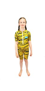 2021 Saltskin Junior Sun Suit STSKNTGR03	- Tiger