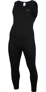 2021 Typhoon Mens Storm3 3/2mm Long John Wetsuit 250801 - Black