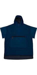 2021 Poncho Al Aire Libre Voited Navy