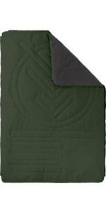 2021 Voited Recyceltes Fleece Outdoor Camping Kissendecke V18un04blpbc - Baumgrün