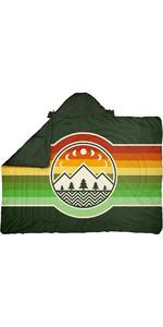 2021 Voited Recycelte Ripstop-Reisedecke V20un01blpbt - Campvibes Treegreen