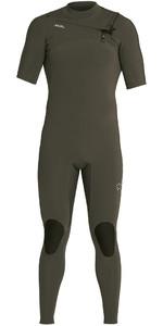 2021 Xcel Mannen Comping 2mm Met Korte Mouwen Chest Zip Wetsuit Mn22zxc0 - Donker Bos