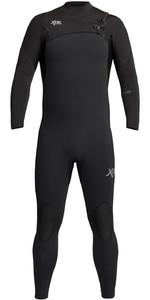 2021 Xcel Mannen Comping 4/3mm Chest Zip Wetsuit Mn43zxc0b - Zwart