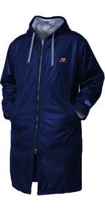 2021 Zone3 Polar Fleece Parka Change Robe / Jacket CW18UFPJ1 - Navy / Grey / Orange