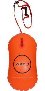 2021 Zone3 Swim Safety Buoy / Tow Float SA21SBTF - Orange