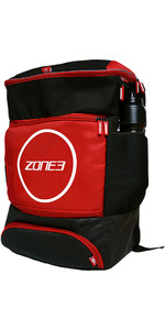 2021 Zone3 Transição 40l Mochila Ra18tran - Vermelho / Preto