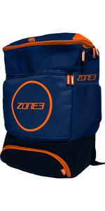 2021 Zone3 Transition 40l Sac à Dos Ra18tran - Navy / Orange