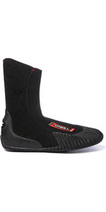 O'Neill Youth / Junior Epic 5mm Ronda Punta Botas 4067 - Negro