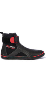 2019 Gul All Purpose 5mm Lace Up Boots BO1304-B2 - Black / Red