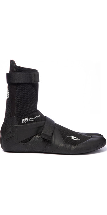2020 Rip Curl Flashbomb 5mm Hidden Split Toe Boots WBO7IF - Black