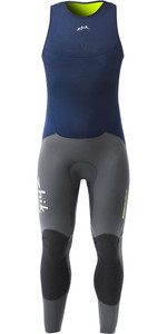 Zhik Superwarm V Skiff Long John Traje De Neopreno Skf1120 - Navy