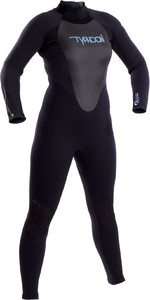 2019 Typhoon Womens Storm 3mm GBS Wetsuit Black 250870