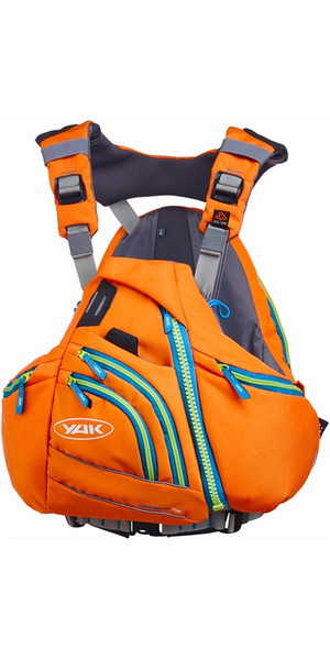Yak Greenburg 70N Touring Canoa / Kayak Buoyancy Aid Orange 2747
