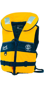 2019 Crewsaver Adult Spiral 100n Life Jacket in giallo / nero 2820