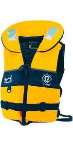 2019 Crewsaver Adulto Espiral 100n Colete salva-vidas em Amarelo / Preto 2820