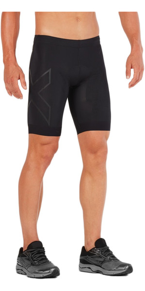 2018 2XU Compression Tri Shorts NEGRO / NEGRO MT4842b
