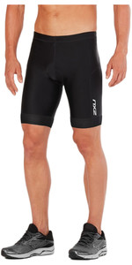 "2018 2XU Perform 9 ""Tri Shorts NEGRO / NEGRO MT4854b"