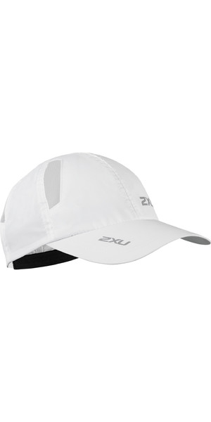 2019 2XU Run Cap White UQ5685f