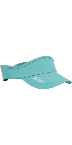 2019 2XU Run Visor Aqua Splash UQ5686f