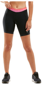 "2020 2xu Active 7 ""tri-short Voor Dames WT4868B - Zwart / Sunset Ombre"