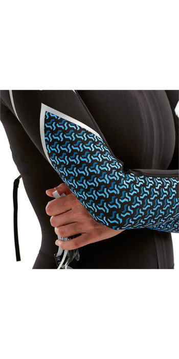 2021 2xu Damen Pro Swim-Run SR1 Neoprenanzug Schwarz / Aquarius Teal Print WW5480C
