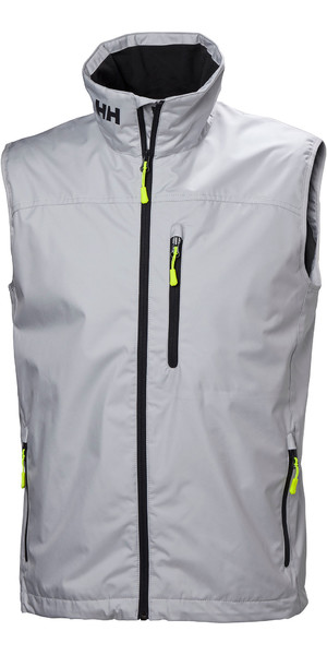 2019 Helly Hansen Mens Crew Vest Grey Fog 30270