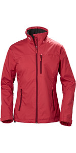 2019 Helly Hansen Womens Crew Jacket Cardinal 30297