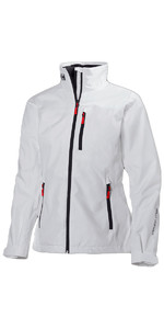 2019 Helly Hansen Ladies Crew Jacket Bianco 30297
