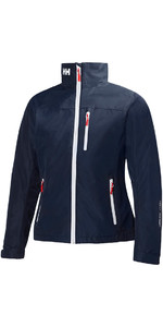 2019 Dames Mid Layer Crew Jacket Navy 30317 van Helly Hansen