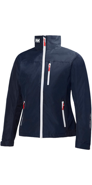 2019 Helly Hansen Womens Mid Layer Crew Jacket Navy 30317