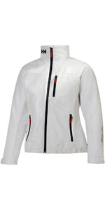 2019 Helly Hansen Damen Mid Layer Crew Jacke WHITE 30317