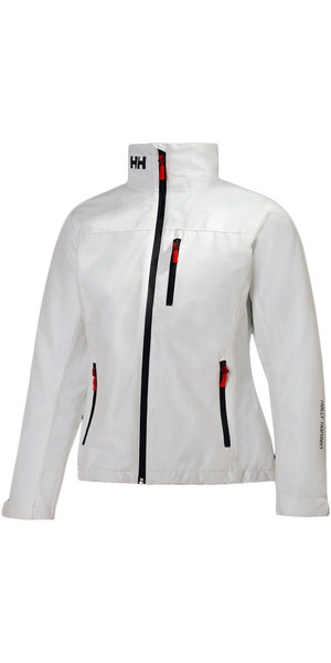 2019 Helly Hansen Ladies Mid Layer Crew Jacket WHITE 30317