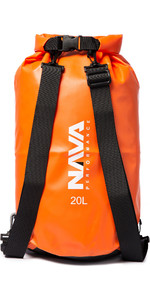 2020 Nava Performance 20L Drybag With Backpack Straps NAVA003 - Orange